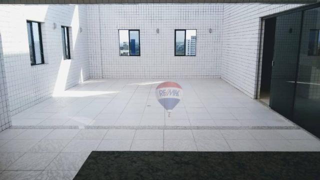 Flat com 1 dormitório para alugar, 38 m² - Poço - Recife/PE - Foto 15