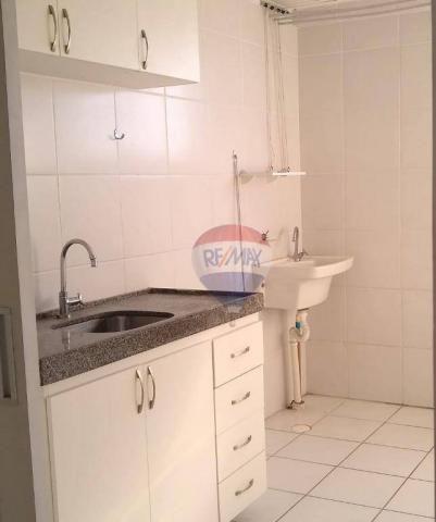 Flat com 1 dormitório para alugar, 38 m² - Poço - Recife/PE - Foto 5