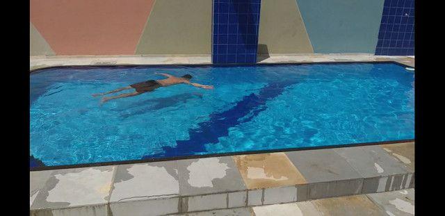 Casa com piscina no novo Iguape R$  600,00 final de semana comum , sexta a domingo. - Foto 15