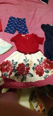 Lote de roupa menina tamanho  4 - Foto 2