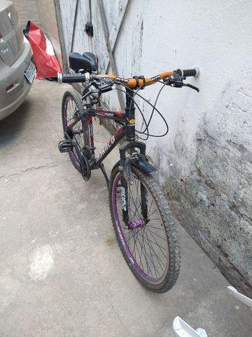 Vendo bike Mônaco 26 Alumínio - Foto 4