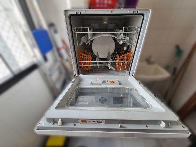 Lava louças Brastemp Active 8 serviços, usada, em bom estado - Foto 3
