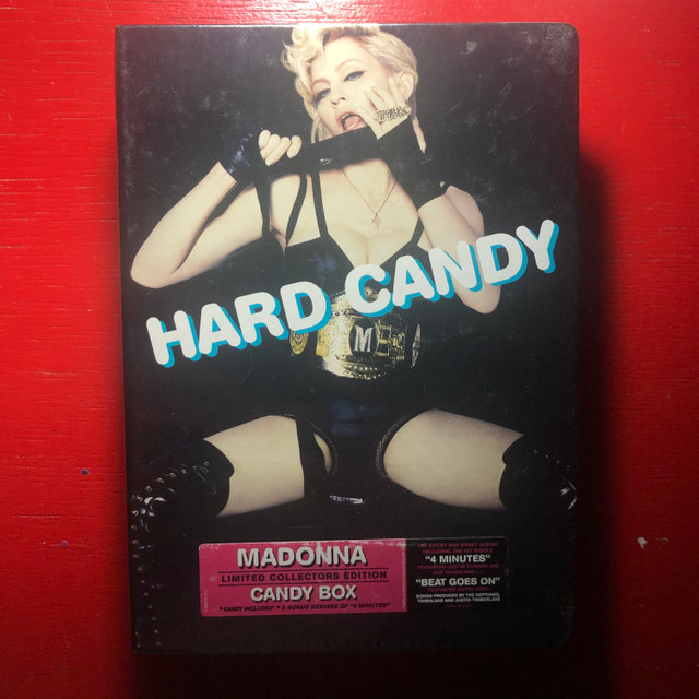 Madonna CD Box Set Hard Candy Lacrado