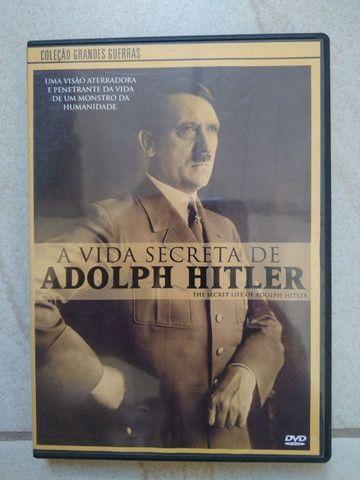 DVD documentário A Vida Secreta de Adolf Hitler. Coleção Grandes Guerras