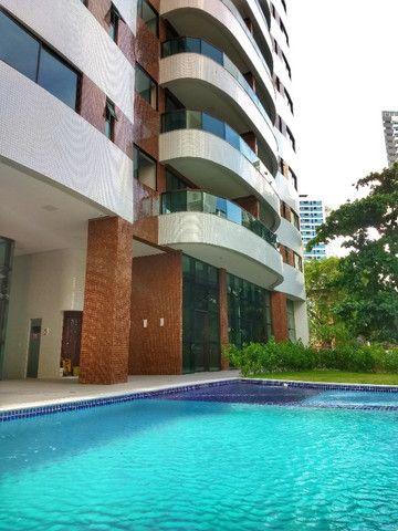 Apartamento em boa viagem 4 quartos 2 vagas de garagem , 185m² - padrão moura dubeux - Foto 6