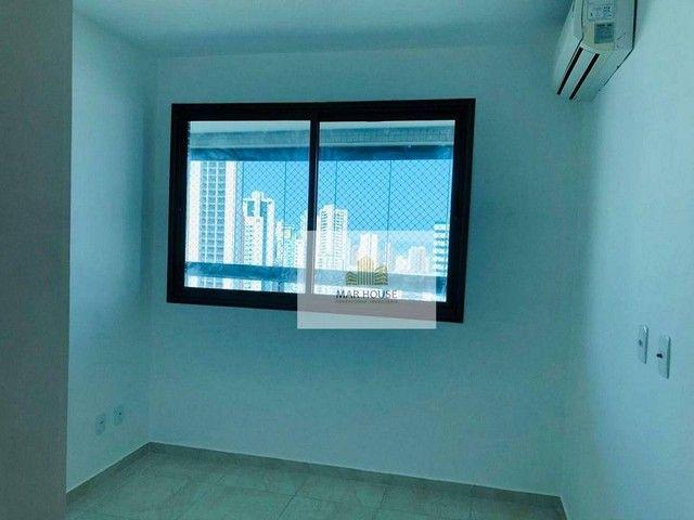 Apartamento com 3 dormitórios para alugar, 81 m² por R$ 3.500/mês - Boa Viagem - Recife/PE - Foto 11