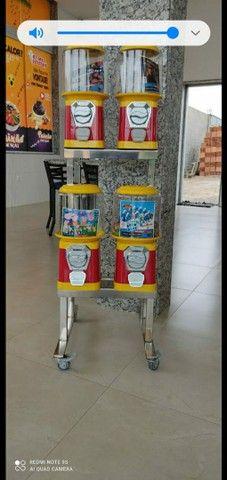 35 máquina de bolinha todas novas com rak é pedestal