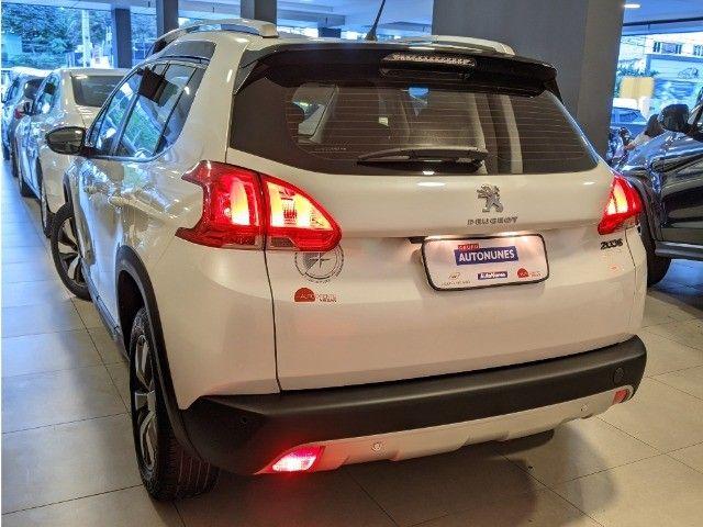 Peugeot 2008 1.6 Flex Crossway Automático 18/19 Branco! - Foto 4