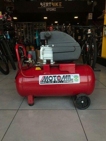 Compressor Motomil 50L - Muito Novo!