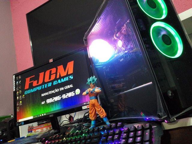 PC GAMER COMPLETO com garantia  FORTINATE  GTA  DOTA 2 etc  - Foto 2
