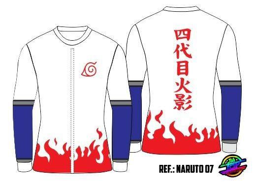 Camiseta naruto - Foto 3