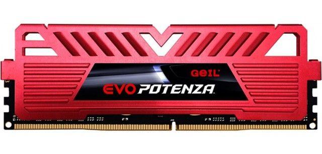 Memória DDR4 Geil Evo Potenza, Edição AMD, 8GB, 3200MHz, Vermelha ou 12X R$ 27,65