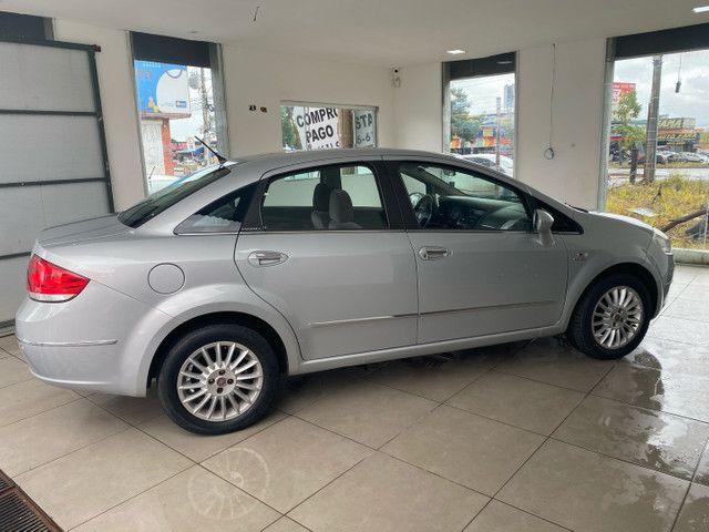 Fiat Linea HLX completo impecável! Ipva 2021 pago! - Foto 10