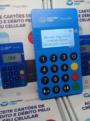 Aumente suas vendas! Passe cartão! Maquininha de cartão NFC - Foto 2