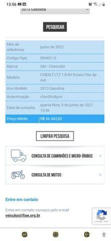 Chevrolet Cobalt Ltz 1.8 Automático Completo + Couro - Foto 4