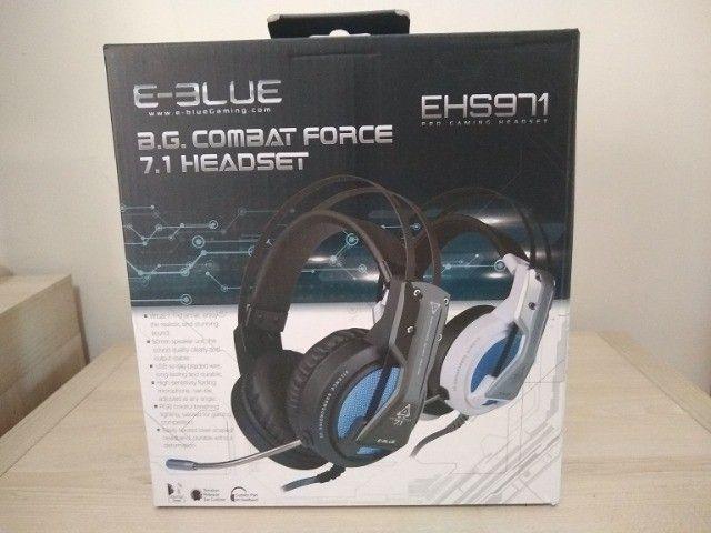 Headset Combat Force 7.1 Surround EHS971 E-blue Garantia - Foto 4