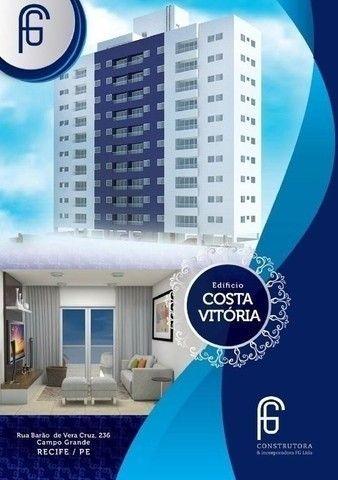(L)Excelente apartamento 3 quartos, 65m² em Campo Grande - Edf. Costa Vitória - Foto 2