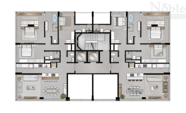 Apartamento alto padrão na Silva Jardim - Foto 14