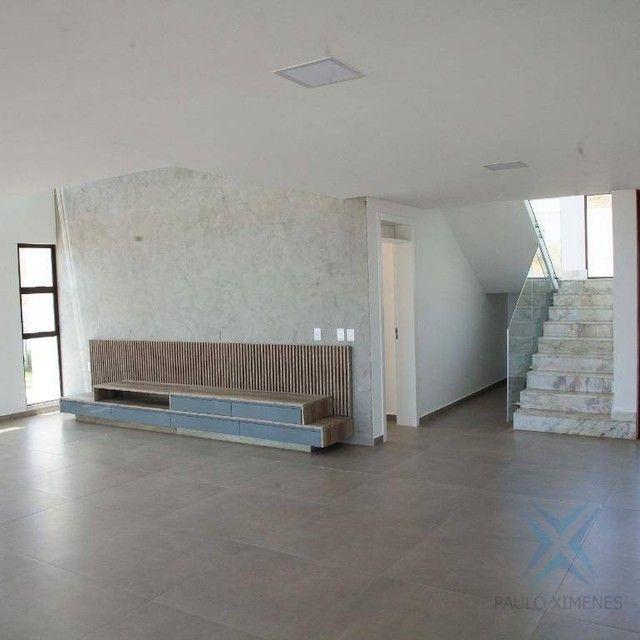 mansão com vista mar no aquiraz riviera com 5 dormitórios à venda, 419 m² por R$ 2.700.000 - Foto 7