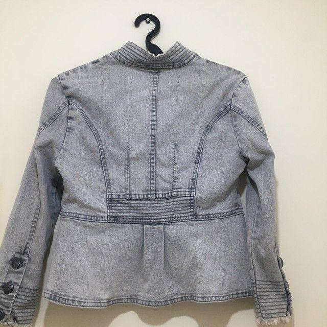 Jaqueta jeans feminina  - Foto 4