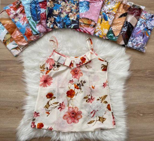 Blusa feminina Estampada  - Foto 2