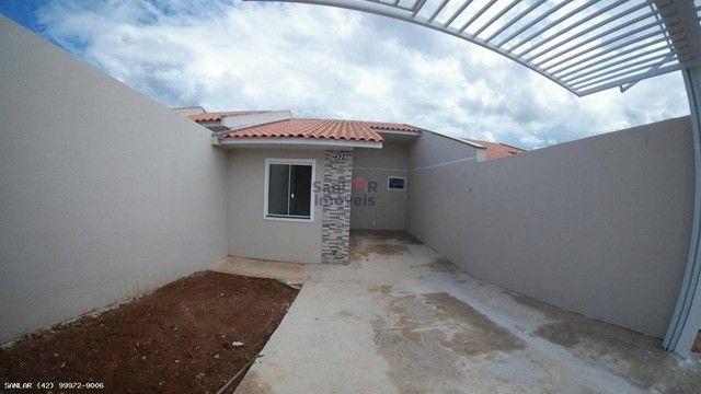 Casa para Venda em Ponta Grossa, Porto Feliz, 3 dormitórios, 1 banheiro, 2 vagas - Foto 2