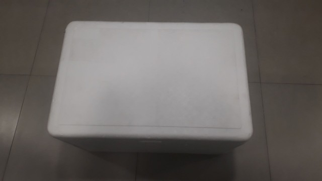 Caixa de Isopor 110 Litros