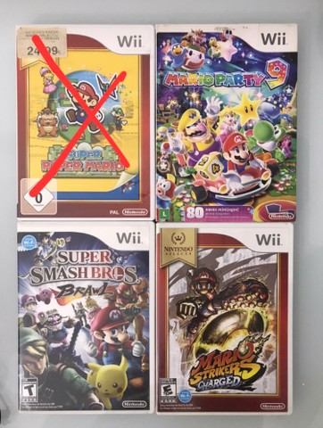 16 jogos pra Nintendo Wii e Wii U Mario Bros - Foto 2