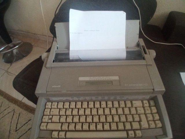 Maquina de datilografia  - Foto 6
