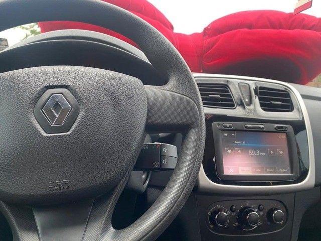 Renault Sandero Expression 1.0 - Branco - 2015 - Foto 14