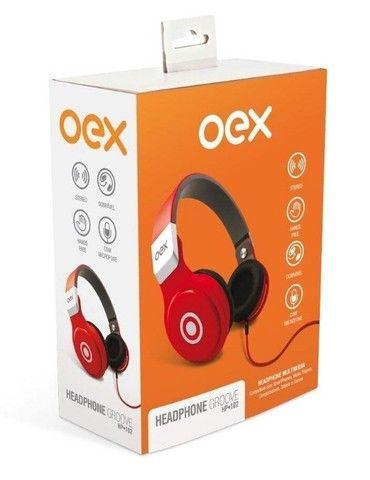 Headset Groove Com Microfone Hp-102 novo lacrado, garantia - Foto 4