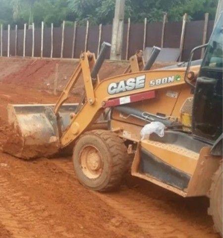 Retro Escavadeira Case 580N<br><br> - Foto 2