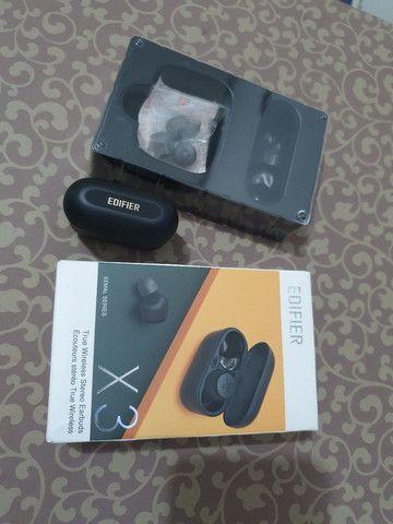 Fone TWS Bluetooth Edifier X3 Preto