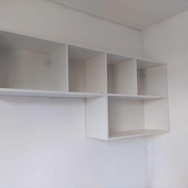 Nicho / estante/ para livros/ decoração novo MDF - Foto 3