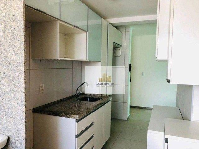 Apartamento com 3 dormitórios para alugar, 81 m² por R$ 3.500/mês - Boa Viagem - Recife/PE - Foto 16