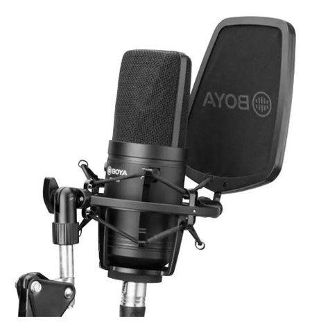 Microfone condensador Boya profissional - Foto 6