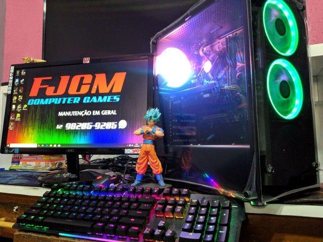 PC GAMER COMPLETO com garantia  FORTINATE  GTA  DOTA 2 etc  - Foto 6