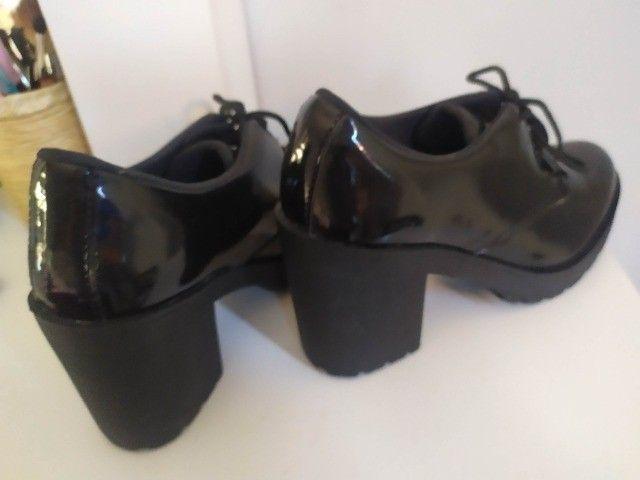Sapato Feminino n 37 com Salto Alto - Foto 4