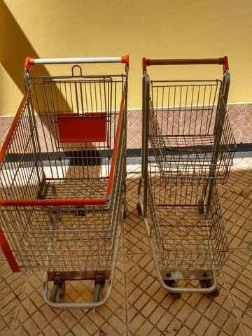 Carrinhos de supermercado - Foto 3