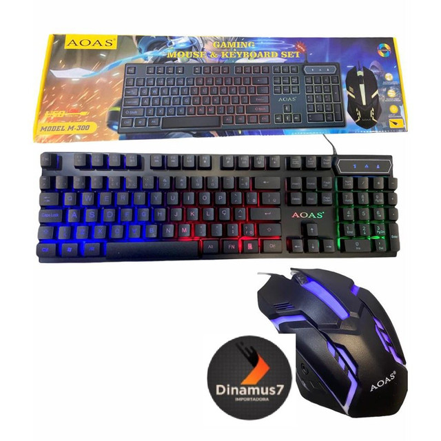 Kit teclado e mouse led - Foto 2