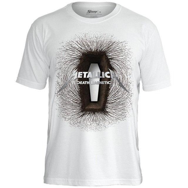 Camiseta Metallica - Camisetas Oficiais Licenciadas - Foto 2