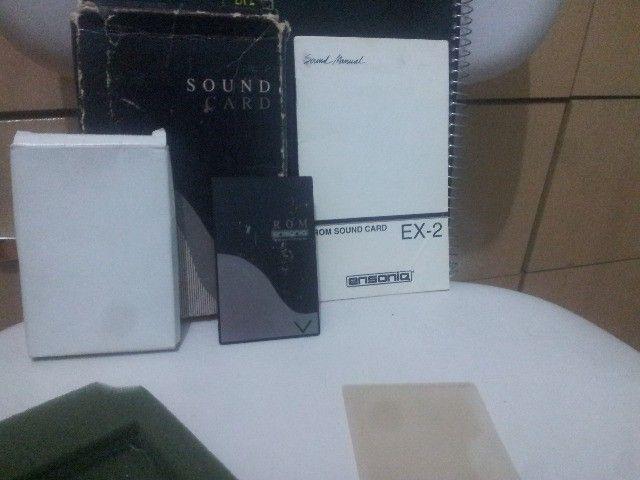 Cartão rom Ensoniq Sound Card Ex-2 para KS-32 Series e SQ1-2 plus series e outros Ensoniqs - Foto 2