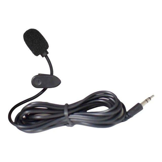 Mini Microfone De Lapela Profissional Plug P2 - Foto 2