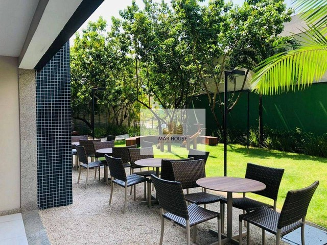 Apartamento com 3 dormitórios para alugar, 81 m² por R$ 3.500/mês - Boa Viagem - Recife/PE - Foto 5