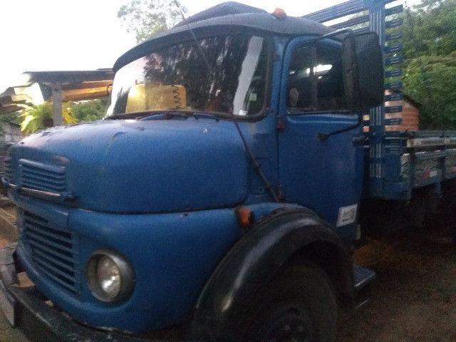 Caminhão 1113 truk vendo$35,000 ou troco por caminhão bau - Foto 4
