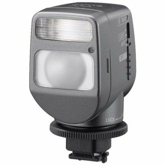 Iluminador Sony Hvl-hfl1 Com Luz E Flash Para Filmadoras
