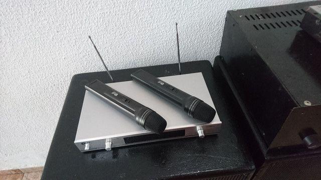 Promoção microfone sem fio duplo  - Foto 2