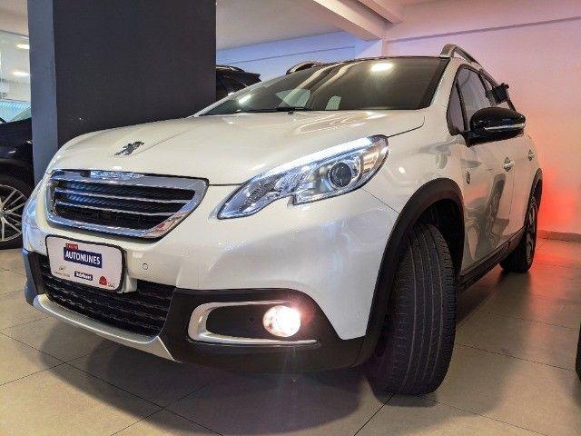 Peugeot 2008 1.6 Flex Crossway Automático 18/19 Branco! - Foto 3