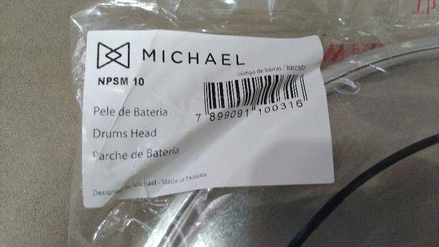 "Pele (nova) Tom 10"" Michael by Remo Npsm Hidráulica Filme Duplo - Foto 2"