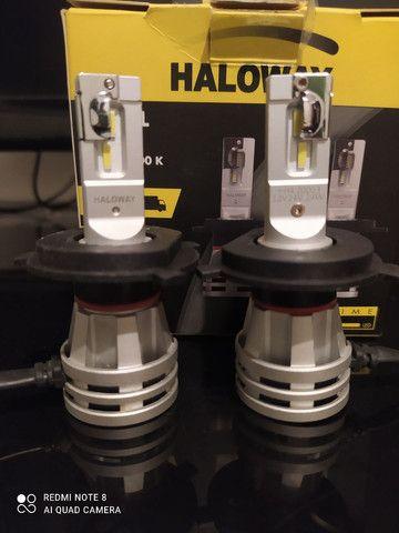 Vendo lâmpadas Led halloway H4 Philips e led canceller